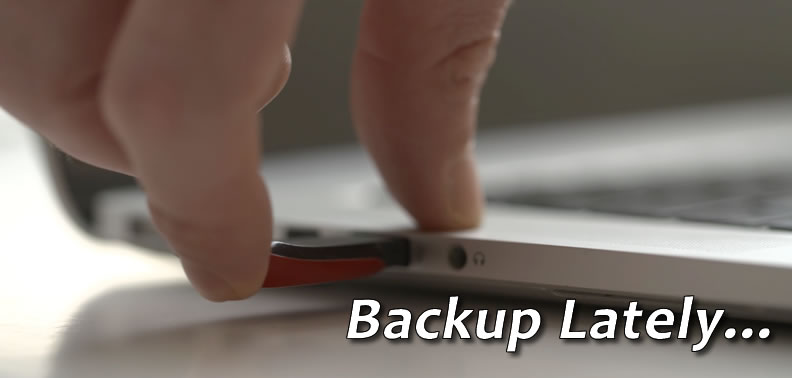 Backup as easy as 1, 2, 3